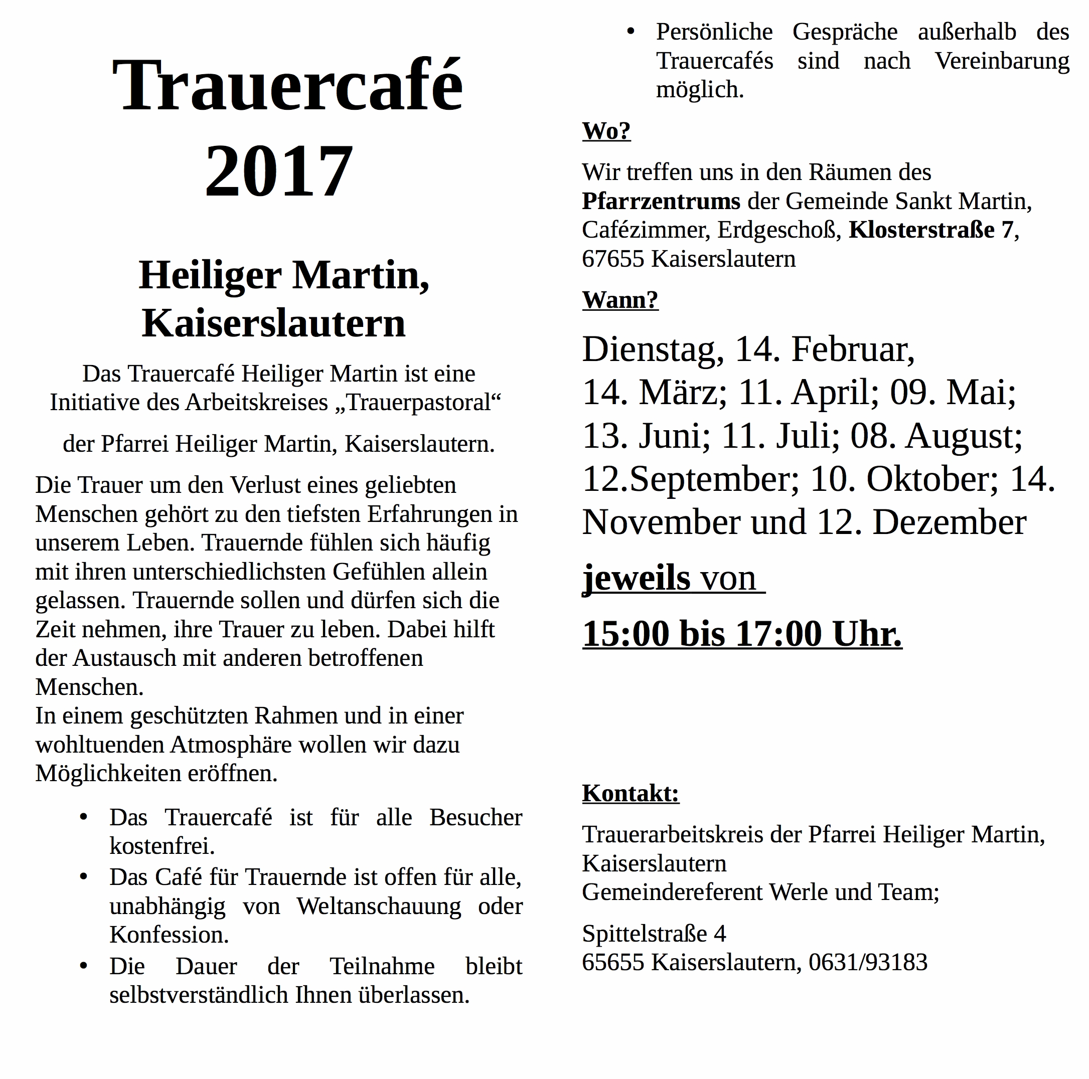 20170123  Faltblatt Trauercaf�g